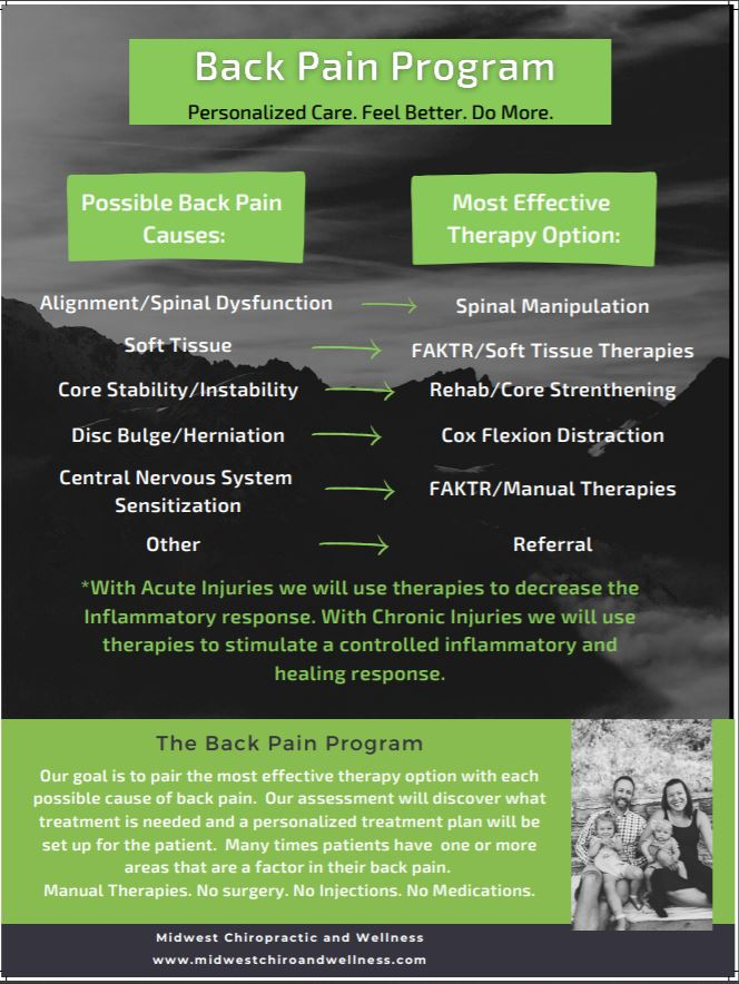 Midwest Chiropractic Back Pain Program